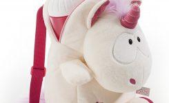 Der süsse kleine weisse Einhorn Rucksack Theodor besonders geeignet für Kinder ????