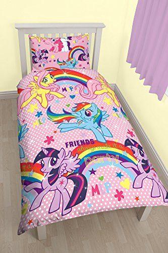Bettwscheset-My-Little-Pony-Wendebezug-Poly-Baumwollgemisch-mehrfarbig-fr-Einzelbett-0-333x500
