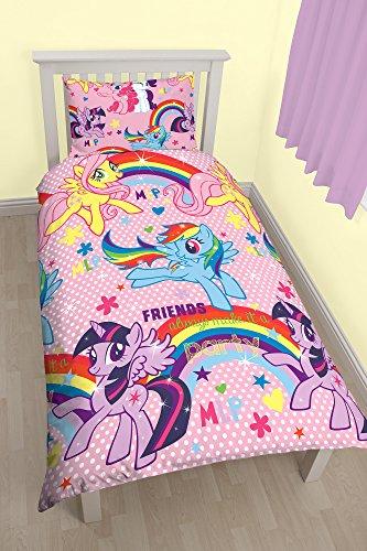Bettwscheset-My-Little-Pony-Wendebezug-Poly-Baumwollgemisch-mehrfarbig-fr-Einzelbett-0
