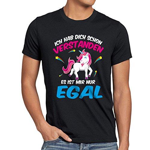 CottonCloud-Ich-hab-dich-schon-verstanden-es-ist-mir-nur-egal-Herren-T-Shirt-Einhorn-Unicorn-0