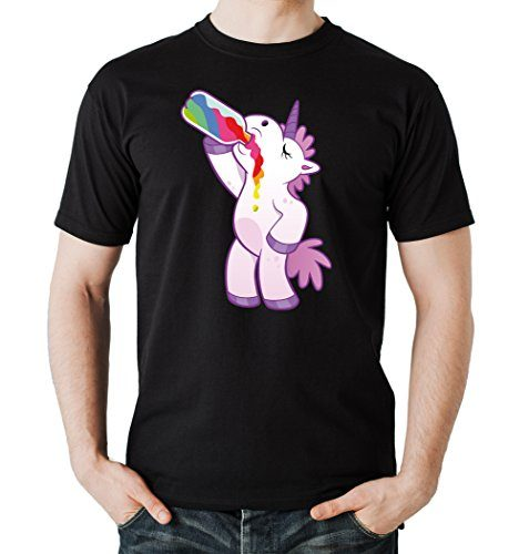 Drinking-Unicorn-T-Shirt-Black-Certified-Freak-0-477x500