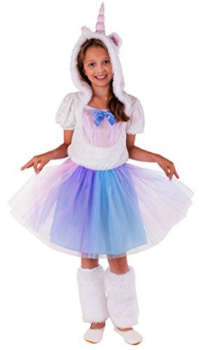 Einhorn-Prinzessin-Kostm-fr-Kinder-komplettes-Einhorn-Kostm-fr-Mdchen-Einhorn-Kleid-0-284x500