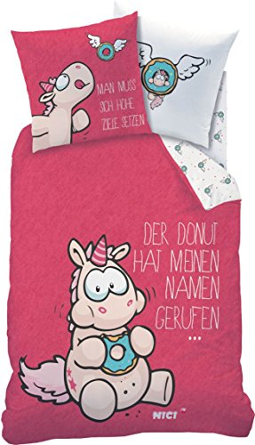 Einhorn-Theodor-and-Friends-Wende-Bettwsche-135x200cm-80x80cm-LinonNici-DONUTS-045369-0