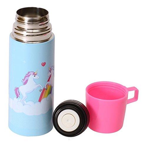 Einhorn Thermosflasche mit Becher