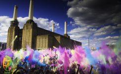 Holi Festival und Holi Einhorn Pulver 🦄❤🌈