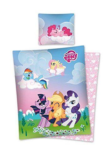 Mein-kleines-Pony-Bettwsche-100-Baumwolle-Bettbezug-140-x-200-Kissenbezug-70-x-80-Bettwsche-My-little-Pony-0-354x500