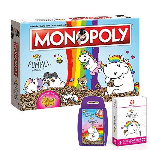 Monopoly-Pummeleinhorn-Brettspiel-Gesellschaftsspiel-Spiel-Deutsch-NEU-0