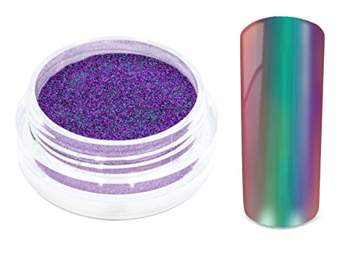 Nailart-MIRROR-CHROME-FLIP-FLOP-Pigment-Puder-CALYPSO-Nageldesign-Spiegel-Effekt-Powder-Nail-Glitzer-Glitter-Pulver-Mirror-Metallic-Nail-Dekoration-Nagelkunst-Naildesign-0