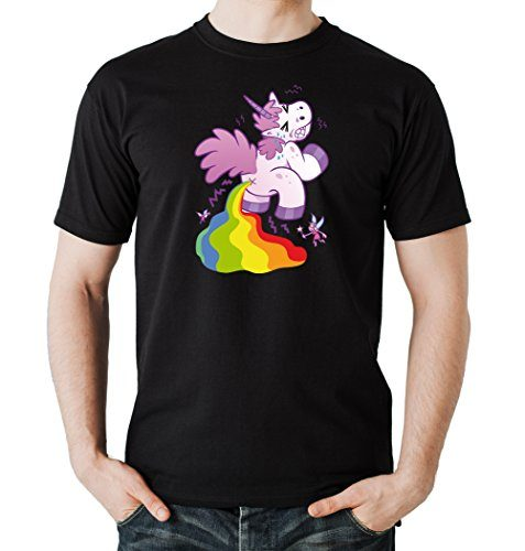 Pooping-Unicorn-T-Shirt-Black-Certified-Freak-0-477x500
