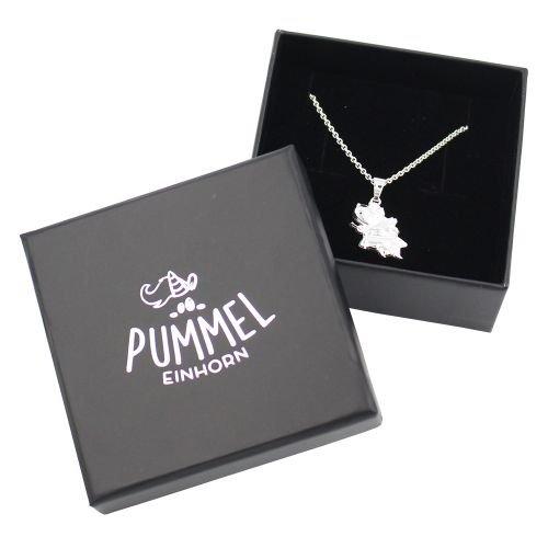 Pummeleinhorn-Halskette-Pummelfee-3D-925-Silber-inkl-Geschenkschachtel-0