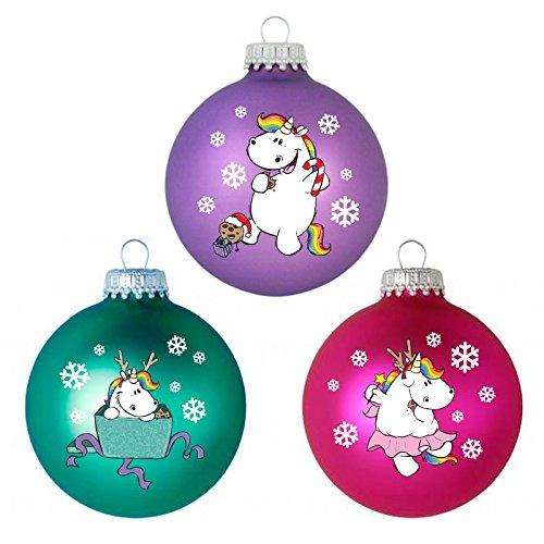 Pummeleinhorn-Weihnachtskugeln-X-Mas-Pummelfee-3er-Set-0