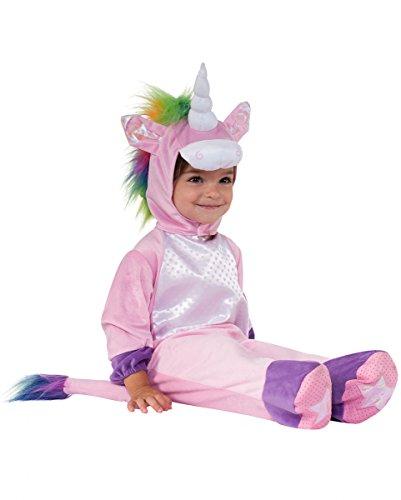 Einhorn Baby Plüsch-Kostümanzug