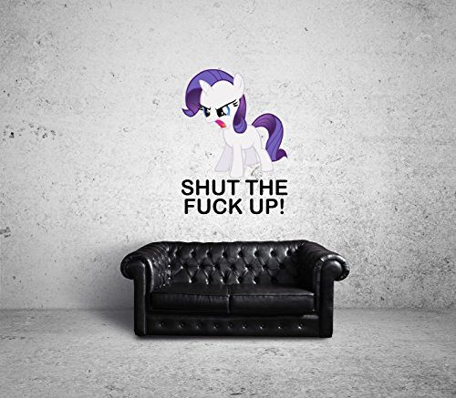 Shut-The-Fuck-Up-Pony-Wallart-Certified-Freak-70-x-100-cm-0-500x437