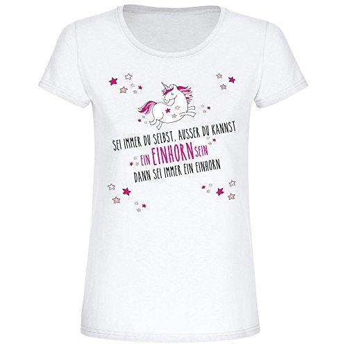 T-Shirt-mit-Einhorn-Motiv-Sei-immer-Du-selbst-ausser-Du-kannst-ein-Einhorn-sein-dann-sei-immer-ein-Einhorn-Geschenk-fr-Sie-Geburtstagsgeschenk-Geschenkidee-T-Shirt-fr-Frauen-0