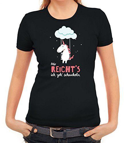 Unicorn-Damen-T-Shirt-mit-Einhorn-Mir-reichts-ich-geh-schaukeln-von-ShirtStreet-0-440x500