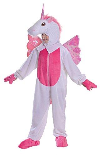 Einhorn Kostüm für Kinder mit Flügel