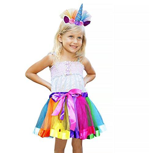 Vamei-Rainbow-Ribbon-Tutu-Rock-fr-Kleinkind-Mdchen-Ballett-Kostm-Fotos-mit-Einhorn-Blume-Stirnband-fr-Little-Pony-Dress-Up-Fun-0