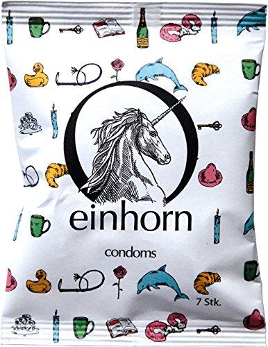 Einhorn Kondom Wochenration