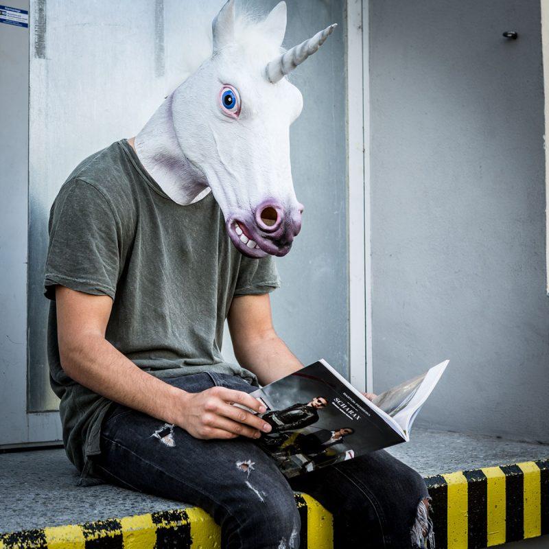 Einhornmaske