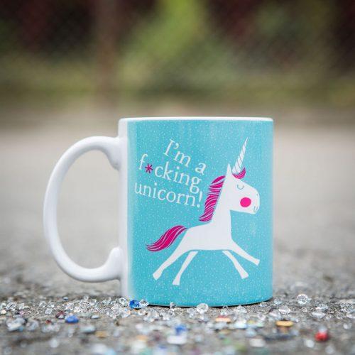 Einhorn Tasse fucking unicorn